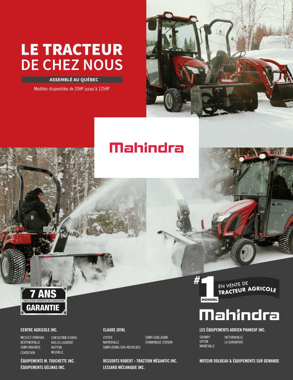 Publicité Mahindra