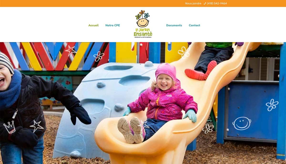 Site web CPE Jardin Ensanté