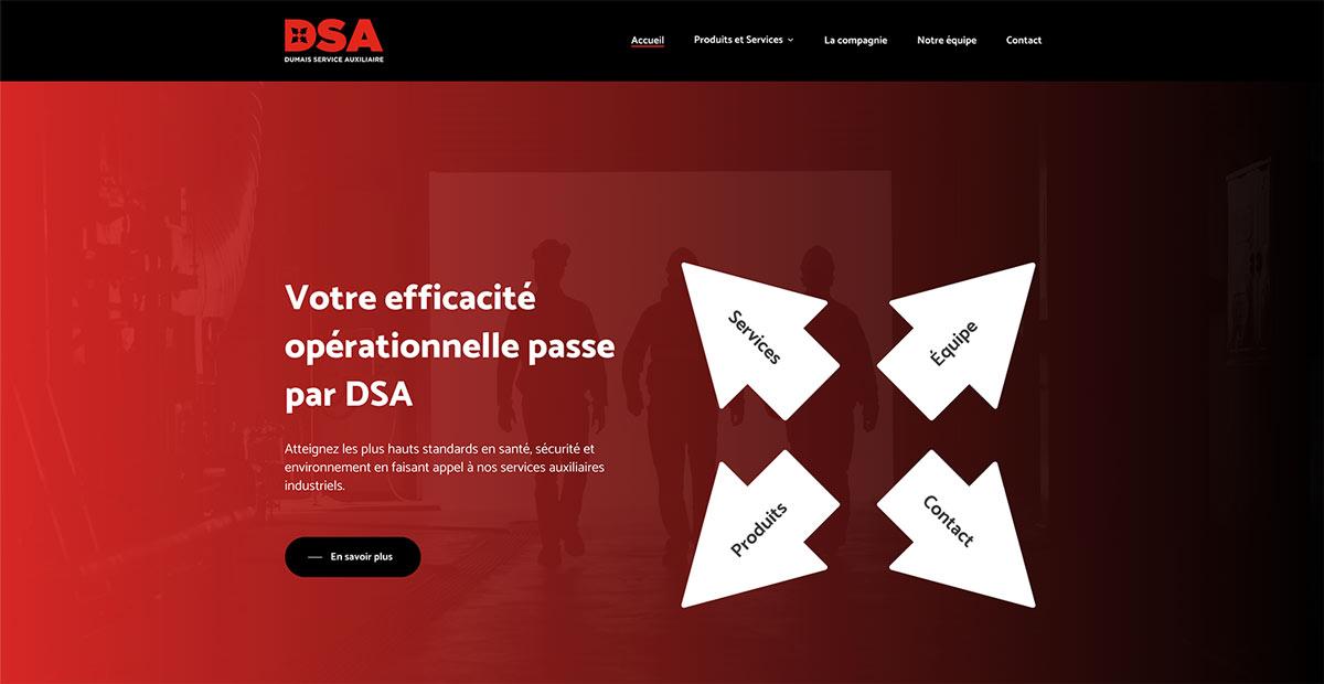 Site web Services DSA