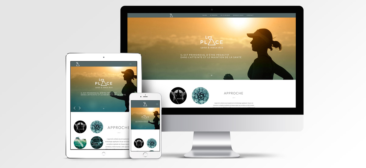 Site web La Place Santé & Mieux-être