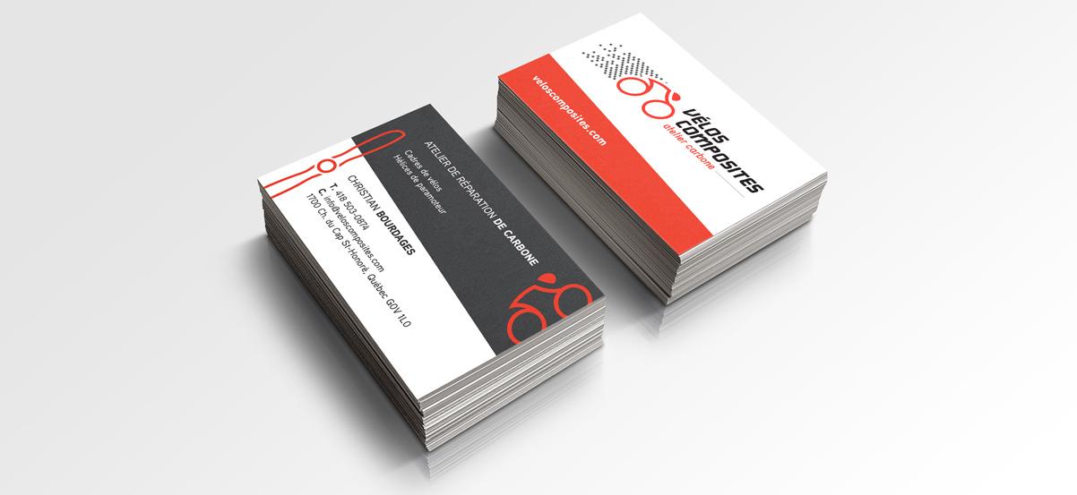 Carte d'affaires Vélos composites